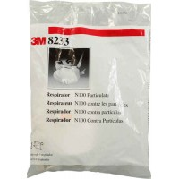 3M N100 Particulate Face Mask -- 1 Mask